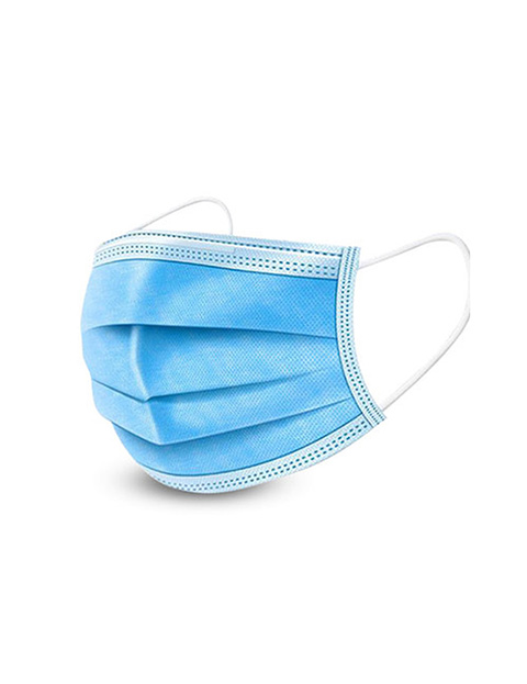 3 Layer Disposable Face Masks (20 Pieces) Image 1