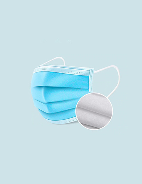 3 Layer Disposable Face Masks (30 Pieces) Image 1